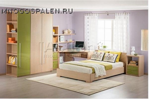 Детская G121-01 Астрон купить в салоне-студии мебели Барселона mnogospalen.ru много спален мебель Италии классические современные
