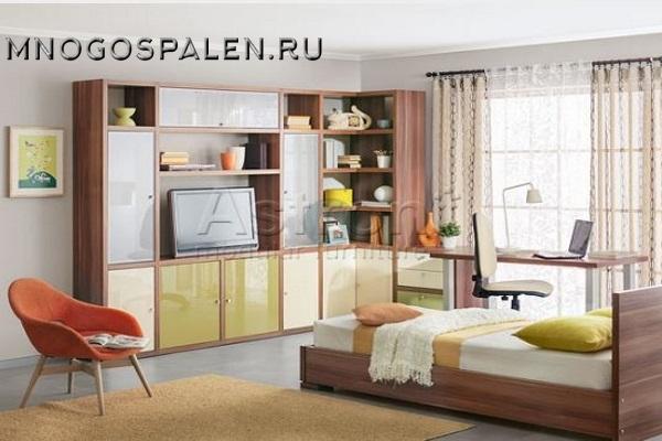 Детская спальня T107 Astron купить в салоне-студии мебели Барселона mnogospalen.ru много спален мебель Италии классические современные
