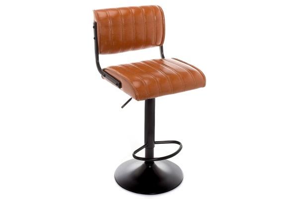 Барный стул Kuper loft коричневый купить в салоне-студии мебели Барселона mnogospalen.ru много спален мебель Италии классические современные