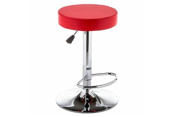 Барный стул Logo красный купить в салоне-студии мебели Барселона mnogospalen.ru много спален мебель Италии классические современные